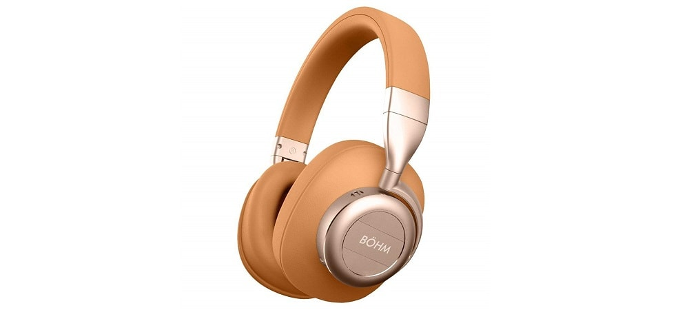 Bohm B76 Headset - Tan Luxurious Wireless Headphones